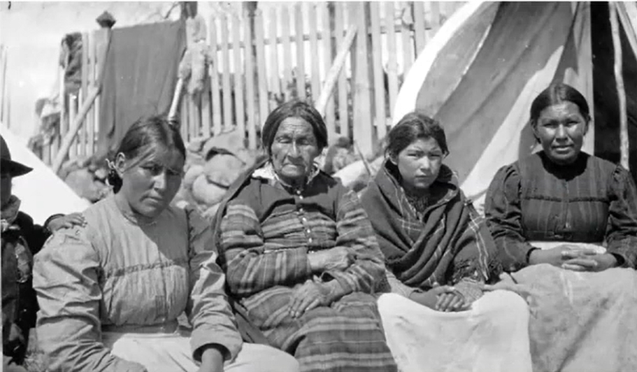 Three Generatios= Abitibi, [ca. 1905] Archives of Ontario, 10010692